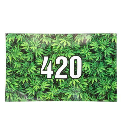 achat cbd Plateau en verre 420 Green