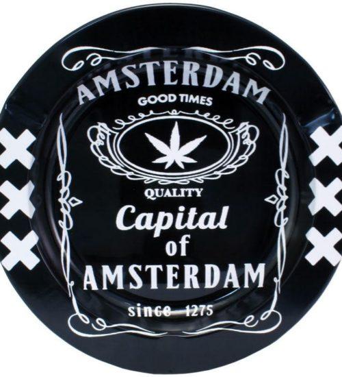 achat cbd Cendrier en métal Amsterdam Good Times