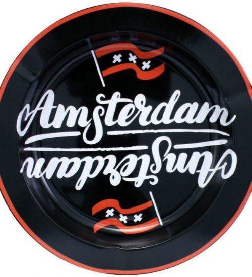 achat cbd Cendrier en métal Amsterdam XXX Flag