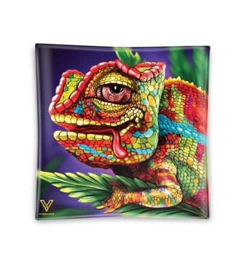 achat cbd Cendrier en verre Chameleon