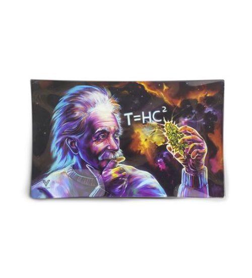 achat cbd Plateau en verre Einstein THC2 Black Hole