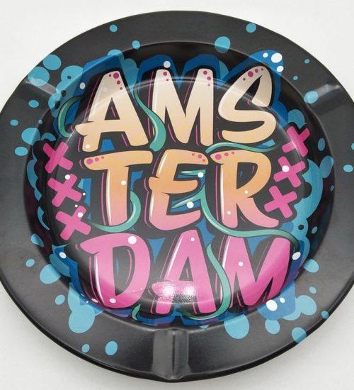 achat cbd Cendrier en métal XXX Ams-ter-dam