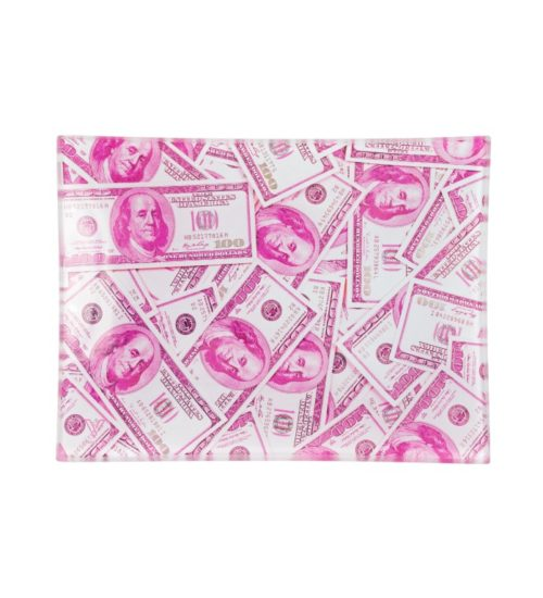 achat cbd Plateau en verre Dollars