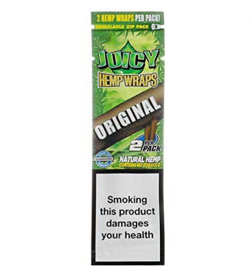 achat cbd Feuilles à rouler Juicy Hemp Wraps Original