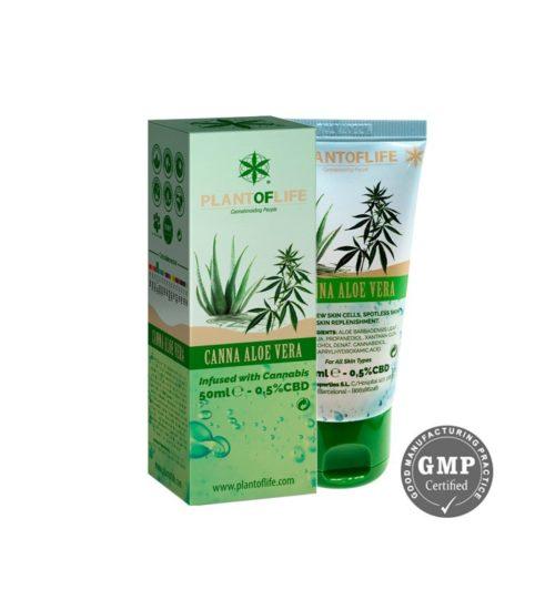 achat cbd Crème Canna Aloe Verra CBD 50ml