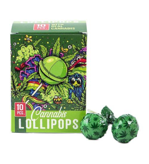 achat cbd Sucettes Cannabis Lollipops