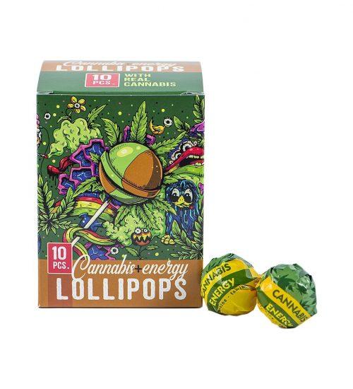 achat cbd Sucettes Cannabis Energy Lollipops