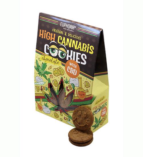 achat cbd High Cannabis Cookies CBD Chocolat